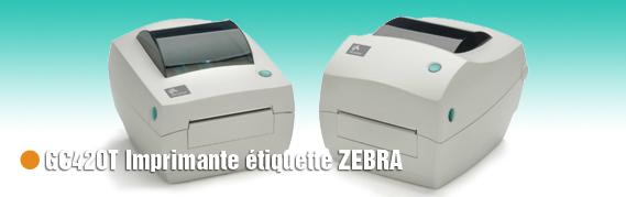 GC420T Imprimante etiquette zebra thermique